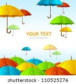 Vector Colorful Umbrellas...