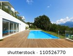 residence with swimming pool | Shutterstock . vector #110526770