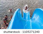 ufa  russia  07.15.2016  fun on ... | Shutterstock . vector #1105271240