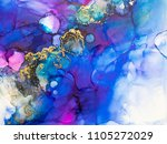 alcohol ink art. abstract... | Shutterstock . vector #1105272029