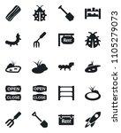 set of vector isolated black...   Shutterstock .eps vector #1105279073