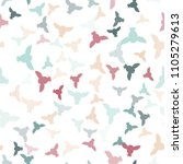 seamless vector pattern with... | Shutterstock .eps vector #1105279613