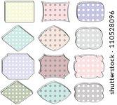 stickers  set | Shutterstock . vector #110528096
