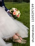 Wedding Flower And Shoes
