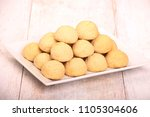 kahk el eid    cookies of eid... | Shutterstock . vector #1105304606