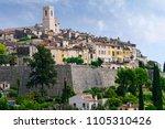 saint paul de vence  a old... | Shutterstock . vector #1105310426