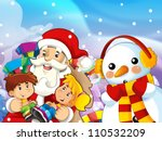 the presentation of christmas   ... | Shutterstock . vector #110532209
