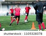 full length portrait of junior... | Shutterstock . vector #1105328378