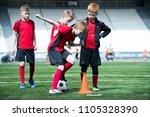 full length portrait of junior... | Shutterstock . vector #1105328390