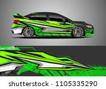 car decal vector  graphic...   Shutterstock .eps vector #1105335290
