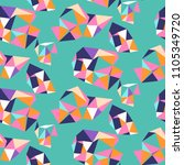 vivid pattern with composition... | Shutterstock .eps vector #1105349720