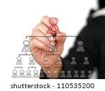 business hand write... | Shutterstock . vector #110535200