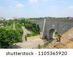 zhonghua gate  gate of china  ... | Shutterstock . vector #1105365920