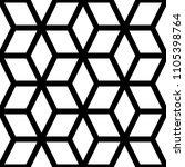 seamless mosaic pattern.... | Shutterstock .eps vector #1105398764