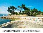 antibes france june 6 2011 ... | Shutterstock . vector #1105404260