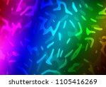 dark multicolor  rainbow vector ... | Shutterstock .eps vector #1105416269