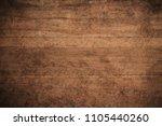 old grunge dark textured wooden ... | Shutterstock . vector #1105440260