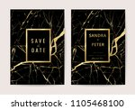 luxury wedding invitation cards ... | Shutterstock .eps vector #1105468100