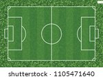 soccer football field for... | Shutterstock .eps vector #1105471640