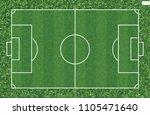soccer football field for... | Shutterstock .eps vector #1105471640