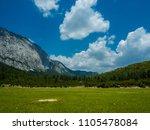 mountains near town kemer ...   Shutterstock . vector #1105478084