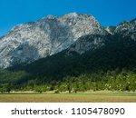 mountains near town kemer ...   Shutterstock . vector #1105478090