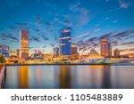 milwaukee  wisconsin  usa...   Shutterstock . vector #1105483889
