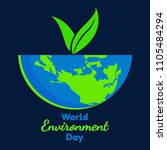 world environment day vector... | Shutterstock .eps vector #1105484294