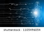 abstract background concept... | Shutterstock .eps vector #1105496054