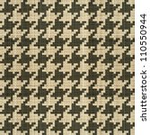 abstract classic hounds tooth... | Shutterstock .eps vector #110550944
