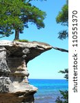 Chapel Rock At Pictured Rocks...
