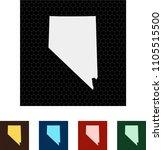 map of nevada   Shutterstock .eps vector #1105515500