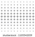sparkling star pattern | Shutterstock .eps vector #1105542059