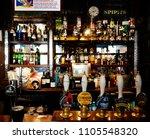 London   Sep 5  Interior Of Pub ...
