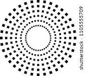 geometric pattern. fashion... | Shutterstock .eps vector #1105555709