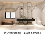 3d rendering luxury modern... | Shutterstock . vector #1105559066