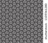 stylish black and white...   Shutterstock .eps vector #1105561280