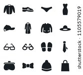 set of simple vector isolated...   Shutterstock .eps vector #1105579019