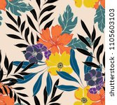 abstract elegance pattern with... | Shutterstock .eps vector #1105603103