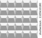 gray seamless pattern with... | Shutterstock .eps vector #1105610180