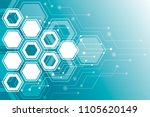 abstract background of the... | Shutterstock .eps vector #1105620149