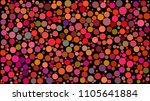 abstract background of circles... | Shutterstock .eps vector #1105641884