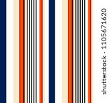 stripe seamless pattern with... | Shutterstock .eps vector #1105671620