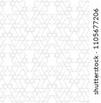 seamless linear pattern with... | Shutterstock .eps vector #1105677206
