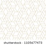 pattern with thin lines ... | Shutterstock .eps vector #1105677473