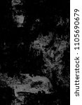 grunge black and white pattern | Shutterstock . vector #1105690679