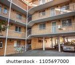 north melbourne  vic australia... | Shutterstock . vector #1105697000