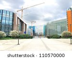 New Buildings In Brussels. The...