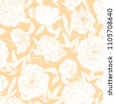 gorgeous floral seamless... | Shutterstock .eps vector #1105708640
