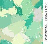 modern grunge brush seamless... | Shutterstock .eps vector #1105711790